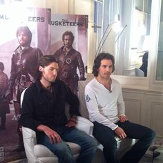 Tom & Santi Interview Paris