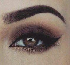 Brown eyed makeup #smokyeye #prettyeyes #eotd