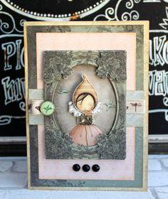 Santoro Mirabelle Vintage card by Katie Skilton