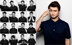 Daniel Radcliffe by Yu Tsai