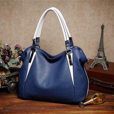 d275f0e47 22.71 |Aliexpress.com: Comprar Bolsos de cuero de las mujeres de hombro  Negro Bolsa de mensajero marcas famosas bolsos de diseño de alta calidad  BG53 de ...