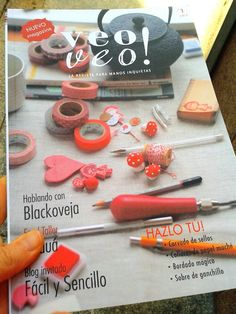 Twitter / Photo by @coneledeva #veoveomagazine #revista #magazine #handmade