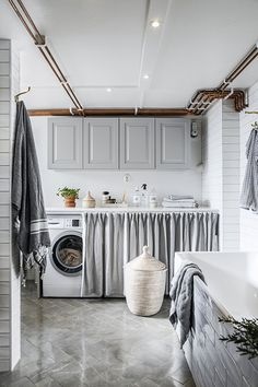 Laundry Room Inspiration, Old Fireplace, Beautiful Interior Design, Innovation, Country Kitchen, Wardrobe Rack, Kitchen Design, Sweet Home, Indoor