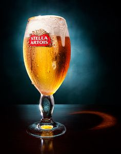 008 1 Still Life Product Photographer Pedersen drink advertising beer lager stella bar pub alcohol artois liquid