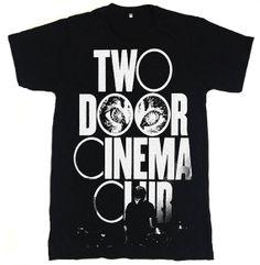 Two Door Cinema Club Logo Indie Rock Music Band by teetoteen, $14.99