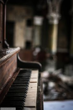 A piano in Clevelands St Joseph Byzantine Catholic Church Medan, Piano Music, My Music, Old Pianos, Music Express, First Love, My Love, Catholic Saints, St Joseph
