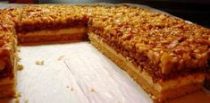Czech Desserts, Sweet Desserts, Sweet Recipes, Cake Recipes, Dessert Recipes, Czech Recipes, Russian Recipes, Walnut Cake, Just Eat It