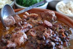 feijoada get the recipe for Brazil's delicious national dish at http://www.internationalcusine.com and join the culinary journey around the world.