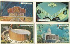 1964 World's Fair Pavilion Cards