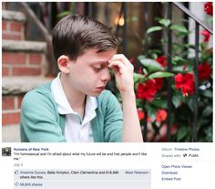 Humans_of_New_York.png Hillary's incredible response to a gay teen's photo on Facebook