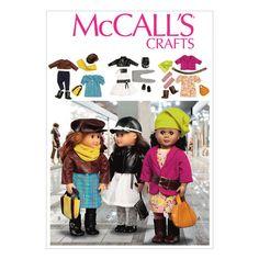 Mccall Pattern M6804 One Size O-Mccall Pattern