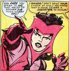 Scarlet Witch by Jack Kirby