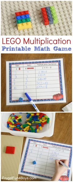 Learn the Concept of Multiplication by Building with LEGO Bricks! The other week, I posted a multiplication activity using a grouping approach to multiplication. Here's an activity that goes about it from a slightly different angle – a geometric approach to multiplication. And it uses one of our favorite toys – LEGO bricks! (If you're...Read More »