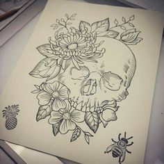 devinsheehy-drawing-sketchbook-sketch-art-artwork/ - The world's most private search engine Tattoo Design Drawings, Art Drawings Sketches, Tattoo Sketches, Tattoo Designs, Sketch Art, Tattoo Ideas, Artwork Drawings, Skull Sketch, Sketch Books