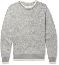 Maison Martin Margiela Knitted Cotton and Linen-Blend Sweater on shopstyle.com