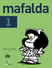 Mafalda 01 (Português)   http://paperloveanddreams.com/book/956287599/mafalda-01-portugu-s   Mafalda, a menina de 6 anos que encantou milhares de pessoas na América Latina, e no mundo, chega agora no Apple em português.Uma personagem que serviu de inspiração para muitas pessoas, ou mesmo ajudou na paixão pela leitura de outras tantas. Mafalda, um símbolo de liberdade e dos direitos das crianças. Ela não gosta de sopa e não suporta a injustiça, a guerra, a violência e o racismo. Mafalda…
