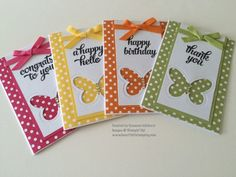 Pals Paper Crafting Card Ideas Tin of Cards Mary Fish Stampin Pretty StampinUp