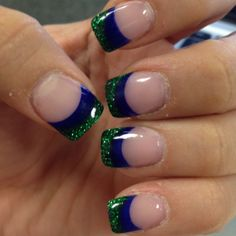 How I'm going to do my nails for my peacock themed wedding!