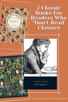 Classic books have a reputation for being long, dense, and difficult to understand. If you were forced to read a few in high school, that was probably enough to put you off them for life. The trick is to find classics that will ease you in... Reading Lists, Book Lists, Book Club Books, Books To Read, The Age Of Innocence, List Challenges, Adventures Of Sherlock Holmes, Long Books, Mary Shelley