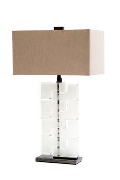 Donghia Esha Bassa Lamp Shown In Ice   Www.loggerewilpower.com