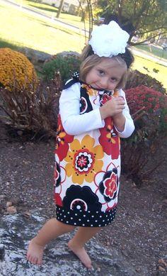 Fall Pillowcase dress