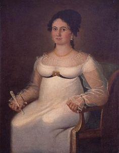 'Retrato De Justa Allo Y Bermudez' by Vicente Escobar    Museo Nacional de Bellas Artes, Havana, Cuba. Visited Jan. 2012.