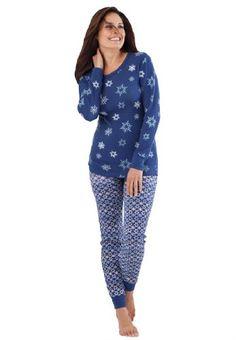 c5e0789e0c0 Dreams And Company Plus Size Thermal Knit Pants