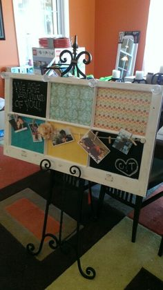 Creative board for college dorm, bed room, office... Done by Two Chicks and a Trunk
