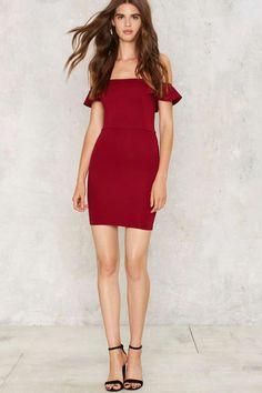 Love Me Some Off the Shoulder Dress | Shop Clothes at Nasty Gal!