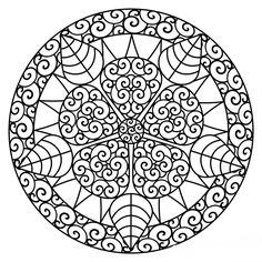 Free Printable Mandala Coloring Pages For Adults The coloring ...