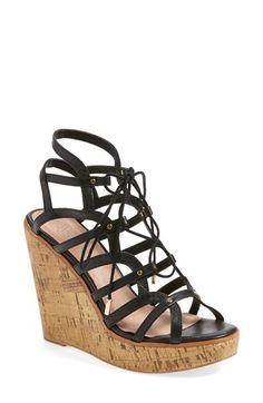 JOIE 'Larissa' Platform Wedge Sandal (Women). #joie #shoes #sandals
