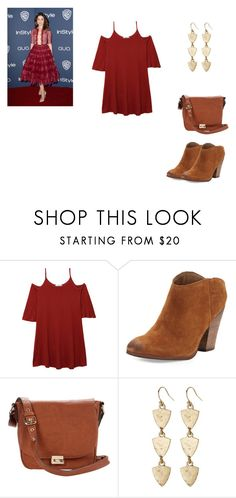 Allison Argent Outfit by zoegeorgiou2001 on Polyvore featuring MANGO, Dolce Vita, Sole Society and Lucky Brand