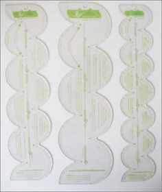 "Scallop Rulers - 1"", 1-1/2"", 2"" | Martha Pullen"