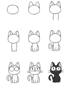 photo apprendre a dessiner bart simpsonYou can find Dessins faciles and more on our website.photo apprendre a dessiner bart simpson Doodle Drawings, Drawing Sketches, Pencil Drawings, Cat Doodle, Sketchbook Drawings, Hand Drawings, Artist Sketchbook, Tattoo Drawings, Tier Doodles