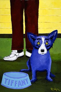 """Tiffany Remembers the '70's"" 1992 painting 