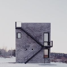 Simon Ungers - Cube House, Ithaca, 2001
