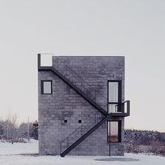 Simon Ungers - Cube House, Ithaca, 2001