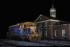 RailPictures.Net Photo: 3855 New England Central EMD GP38-2 at White River Junction, Vermont by Philip Martin