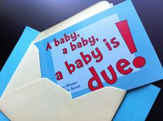 Dr. Suess baby shower ideas | Seuss Baby Shower