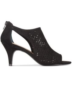 Style & Co. Haddiee Ankle Shooties, Only at Macy's $49.99 Dress up jeans or a skirt with Style & Co.'s Haddiee shootie heels, fashioned with perforated and cutout details paired in a chic, peep toe design.