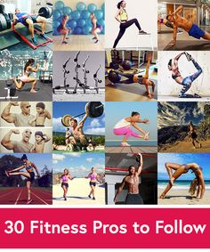 30 Best Instagram Accounts to Follow for Fitness