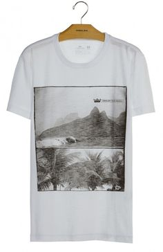 Osklen - T-SHIRT ROUGH CLASSIC PHOTOS - t-shirts - men