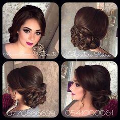 Floral Wedding Hair, Bridal Hair Updo, Wedding Hair And Makeup, Hair Makeup, Easy And Beautiful Hairstyles, Natural Wedding Hairstyles, Bride Hairstyles, Jasmine Hair, Hair Upstyles