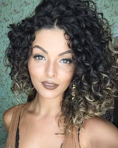 ombre on curls?