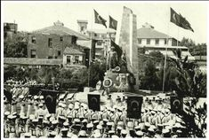 #Barbaros Anıtı. 1950'li yıllar ve günümüz.  #beşiktaş #istanbul