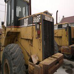 Used #Excavator CAT966F