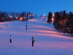 Snow Skiing, Ohio