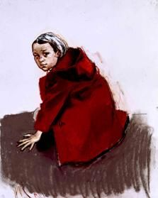 Paula Rego - little red riding hood. haunting