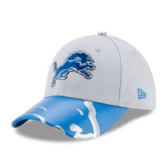 Detroit Lions New Era Women s 2017 NFL Draft On Stage 9FORTY Adjustable Hat  - Gray 691d4b53e00