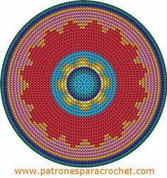 Oilily-look-Like Zomertas – Maak het hip Tapestry Crochet Patterns, Crochet Motifs, Knitting Patterns, Knitting Blogs, Free Crochet, Cross Stitch Pattern Maker, Stitch Patterns, Mochila Crochet, Tapestry Bag